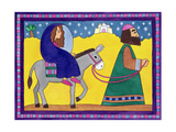 The Road to Bethlehem Giclee Print by Cathy Baxter