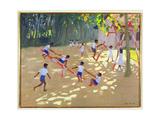 Playground, Sri Lanka, 1998 Giclee Print by Andrew Macara