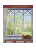 Window in Spring, 1992 Giclee Print by Timothy Easton
