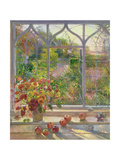 Autumn Windows, 1993 Lámina giclée por Timothy Easton