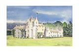 Ballindalloch Castle, 1995 Giclee Print by David Herbert