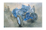Type 59 Grand Prix Bugatti, 1997 Giclee Print by Peter Miller
