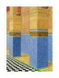 Koranic School, Fez, 1998 Giclee Print by Larry Smart