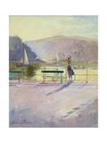 Coastal Rider Giclee Print by Timothy Easton