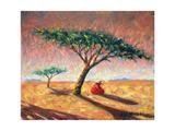 African Afternoon, 2003 Giclée-tryk af Tilly Willis
