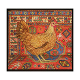 Brown Carpet Chicken, 1995 Giclee Print by  Ditz