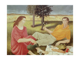 The Picnic, 1994 Giclee Print by Patricia O'Brien