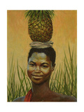 Pineapple Girl, 2004 Giclee Print by Tilly Willis
