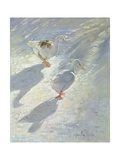 Against the Slope Giclee Print by Timothy Easton