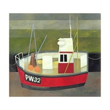 PW 32 Padstow Harbour, 1994 Giclee Print by Reg Cartwright