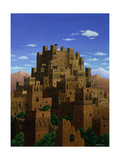 Beyond the Valley of the Kasbahs, 1993 Giclee Print by Larry Smart