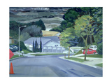 Looking Down My Street, 2000 Giclee Print by Howard Ganz