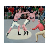 Knock-Out Giclee Print by Jerzy Marek