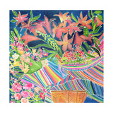 Guatemalan Lilies, Absolutely Fabulous Set, 1994 Giclee Print by Hilary Simon