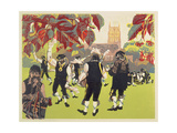 The Ravensbourne Men Giclee Print by Carol Walklin