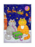 Christmas Surprise Giclee Print by Cathy Baxter