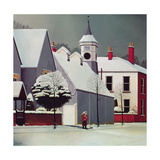 Winter Scene Giclee Print by Reg Cartwright