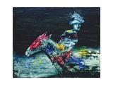 Myth Rider, 1958 Giclee Print by Sir Sidney Nolan