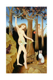 Adam and Eve, 1990 Giclee Print by Patricia O'Brien