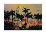 Main Square, Cuetzalan, Mexico Giclee Print by Robert Tyndall