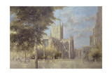 Bath Abbey, 1990 Giclee Print by Peter Miller