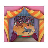 The Circus Giclee Print by Jerzy Marek