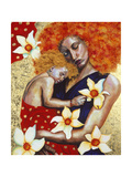 Mother and Child, 2003 Giclee Print by Hilary Dunne