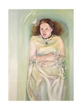 Girl in Bath, 2004 Giclee Print by Lucinda Arundell