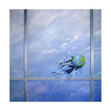 World Breaking Glass Giclee Print by Lincoln Seligman