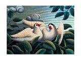 The Love Birds Giclee Print by Jerzy Marek