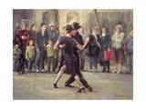 Pat Maclaurin - Street Tango - Giclee Baskı
