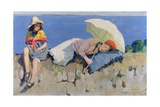 Summer Hours Giclee Print by Harold Harvey