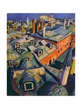 Islamic Roofs Giclee Print by Robert Tyndall
