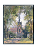 Summer, Albert Memorial, 1989 Giclee Print by Trevor Chamberlain