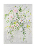 Wedding Flowers for Louisa and Robert, 1993 Giclee Print by Alison Cooper