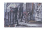 Loading Pallets, Glywed Engineering, Fareham, 1997 Giclee Print by Kate Dicker