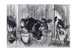 Calves Giclee Print by Brenda Brin Booker