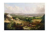 A View of Sheffield from Psalter Lane, C.1850 Giclee Print by J. McIntyre