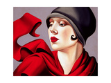 Autumn Zephyr Giclee Print by Catherine Abel