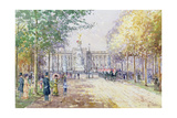 Summer in the Mall, C.1910 Giclee Print by John Sutton