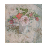 The Perfumed Rose in a Summer Bunch Giclee Print by Diana Armfield