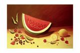 Watermelon Giclee Print by Dory Coffee