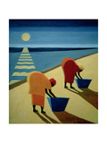 Beach Bums, 1997 Giclee Print by Tilly Willis