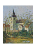 French Church Giclee Print by Karen Armitage