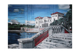 A Quiet Prelude, Vizcaya, Miami 2005 Giclee Print by Jeff Pullen