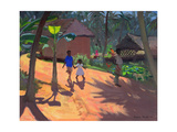 Road to Kovalum Beach, Kerala, 1996 Giclee Print by Andrew Macara