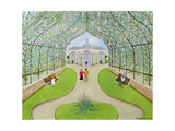 Lilac Arbour Giclee Print by Mark Baring