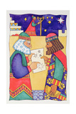 The Wise Men Looking for the Star of Bethlehem Giclee Print by Cathy Baxter