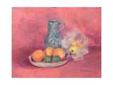 Still Life of Fruit and Jug Giclee Print by Joyce Haddon