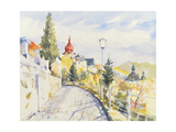 Salzburg Nonntal Giclee Print by Clive Metcalfe